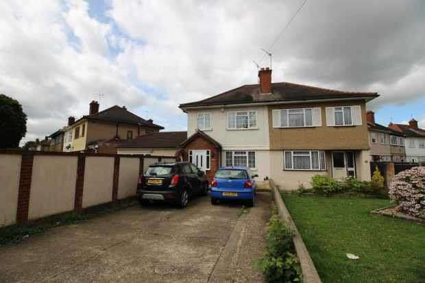 4 Bedrooms Semi Detached House for sale in Raynton Drive, Hayes, Greater London, UB4 8BE