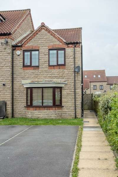 3 Bedrooms End Of Terrace House for sale in Barnard Meadows, Kirton In Lindsey, Lincolnshire, DN21