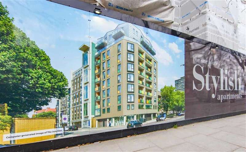 2 Bedrooms Flat for sale in The Junction, 14 King David Lane, Shadwell