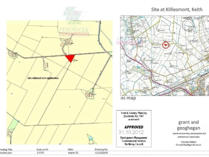 Land Commercial for sale in Site East of Killiesmont Keith,, Keith, AB55 6UX