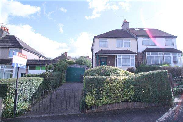 3 Bedrooms Semi Detached House for sale in Rickman Hill