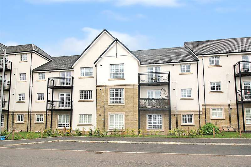 2 Bedrooms Flat for sale in Crown Crescent, Kinnaird Village, Larbert