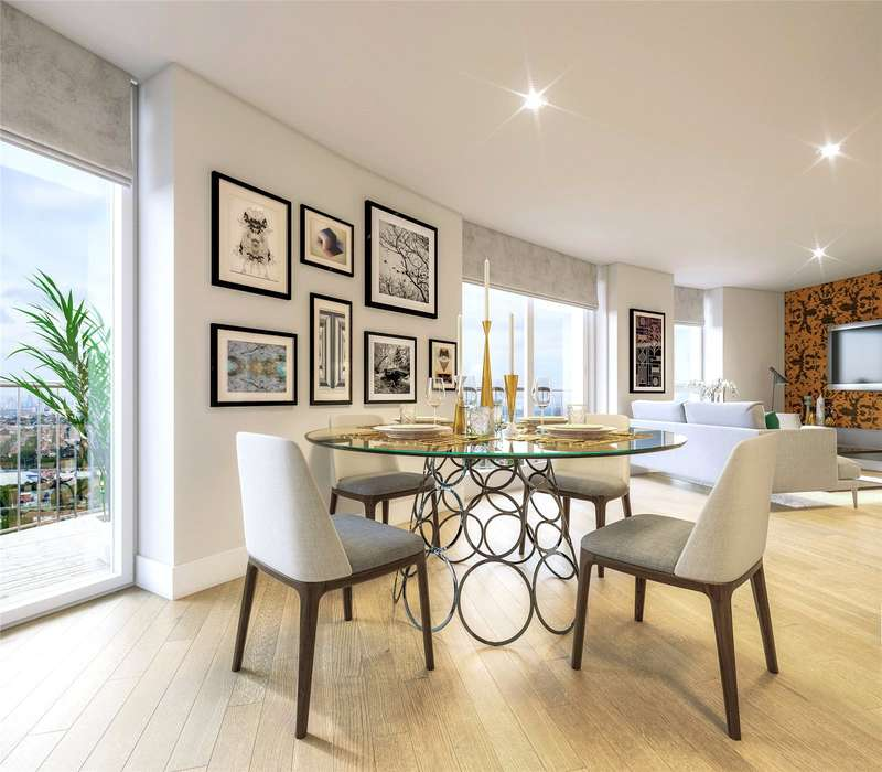 2 Bedrooms Flat for sale in Cambridge Road, London, IG11