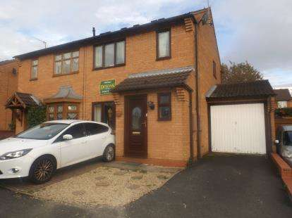 3 Bedrooms Semi Detached House for sale in Peregrine Grove, Kidderminster