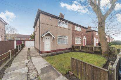 2 Bedrooms Semi Detached House for sale in Yardley Avenue, Warrington, Cheshire, Warrington, WA5