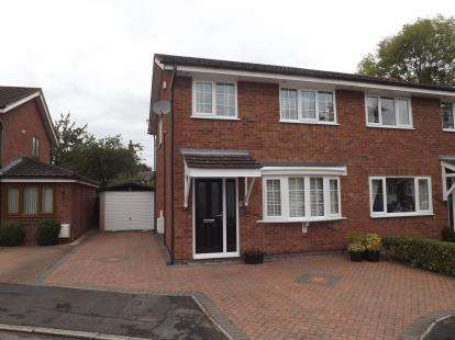 3 Bedrooms Semi Detached House for sale in Orchard Brow, Rixton, Warrington, Cheshire