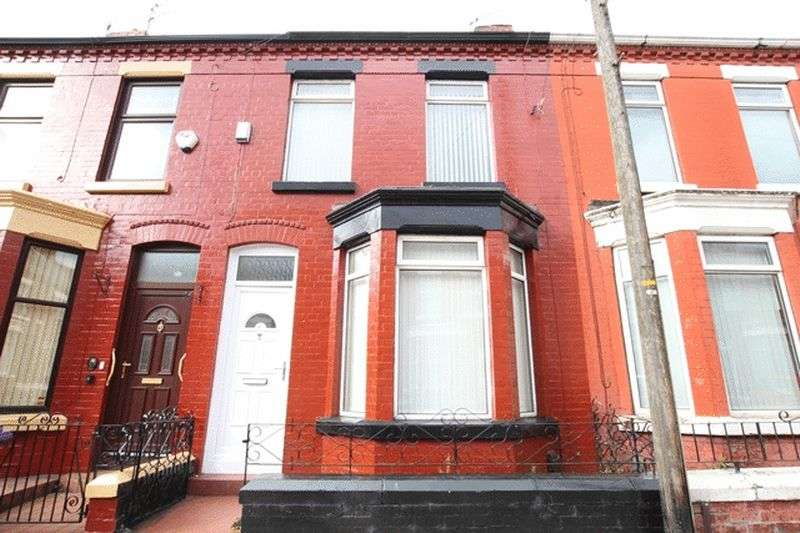 3 Bedrooms Terraced House for sale in Woodcroft Road, Wavertree, Liverpool, L15