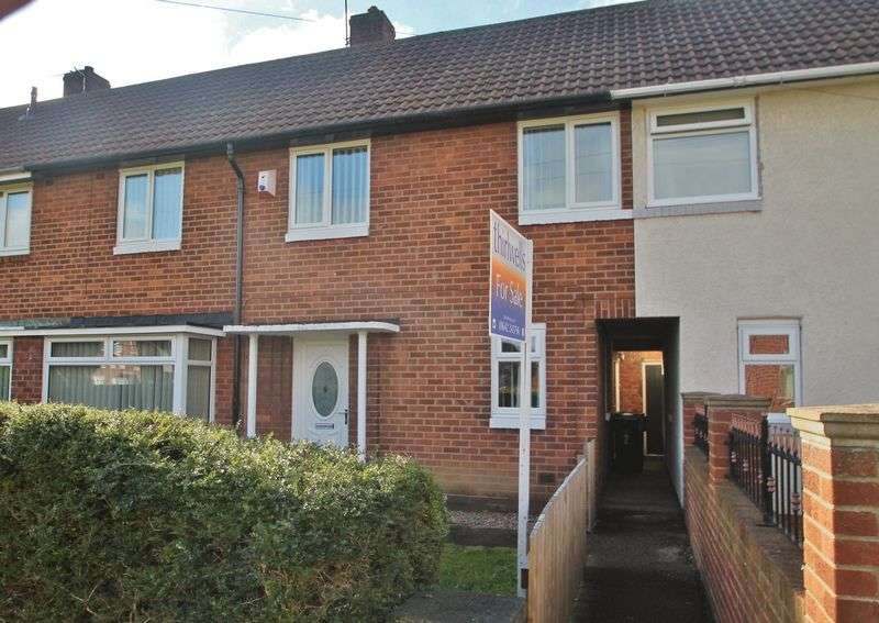 3 Bedrooms Terraced House for sale in Westcroft, Berwick Hills