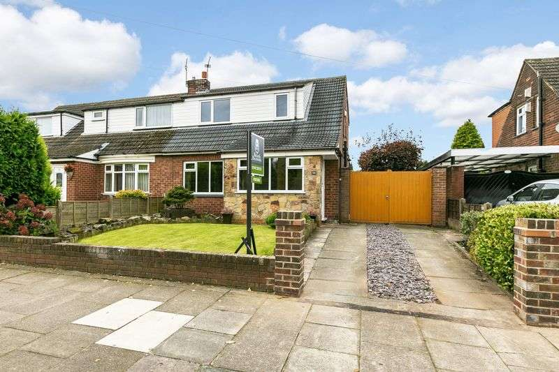 3 Bedrooms Semi Detached House for sale in Sandbrook Road, Orrell, WN5 8UD
