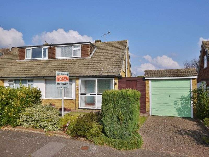 3 Bedrooms Semi Detached Bungalow for sale in Highfield Close, Pembury