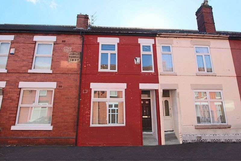 2 Bedrooms Terraced House for sale in Meller Road,. Longsight, Manchester M13 0GP