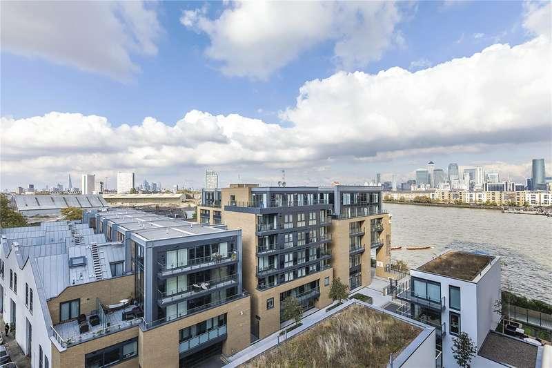 1 Bedroom Flat for sale in Cornmill House, 4 Wharf Street, London, SE8