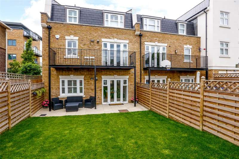 4 Bedrooms Terraced House for sale in Emerald Square, London, SW15