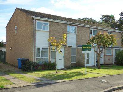 2 Bedrooms End Of Terrace House for sale in West Canford Heath, Poole, Dorset