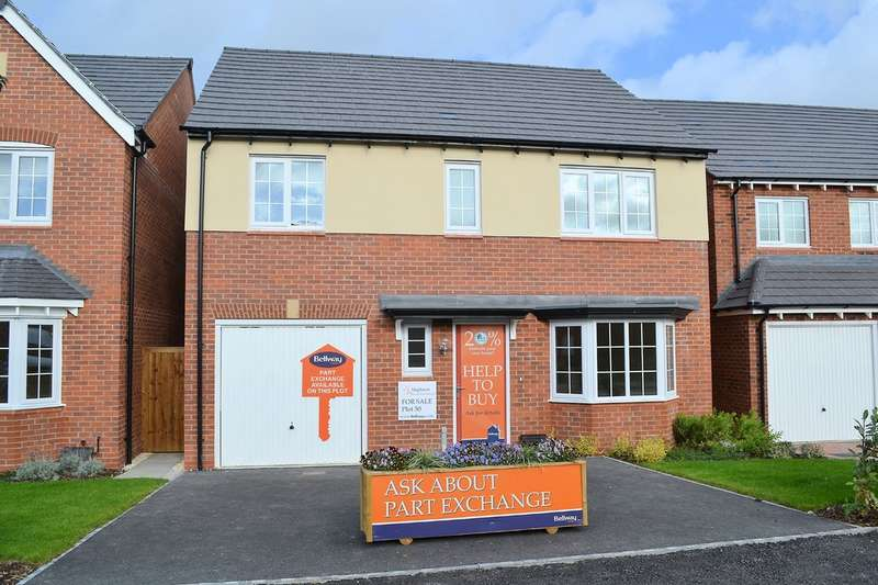 4 Bedrooms Detached House for sale in Sutton Crescent, Barton Under Needwood