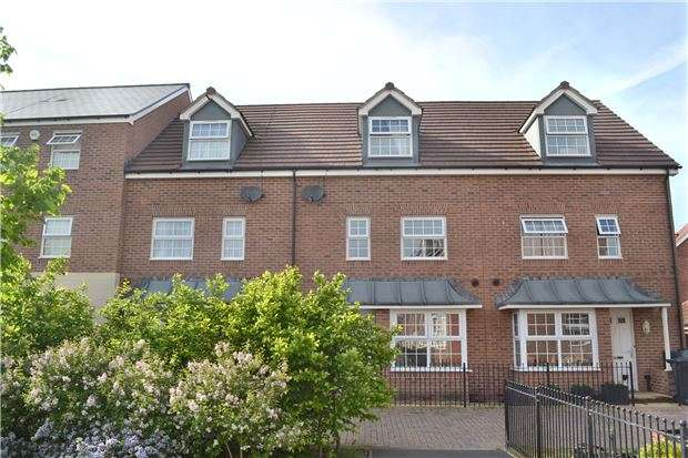 4 Bedrooms Terraced House for sale in Coningsby Walk, Thatcham Avenue Kingsway, Quedgeley, GLOUCESTER, GL2 2EB