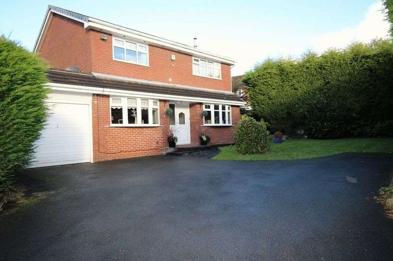 4 Bedrooms Detached House for sale in Sanderling Close, Westhoughton