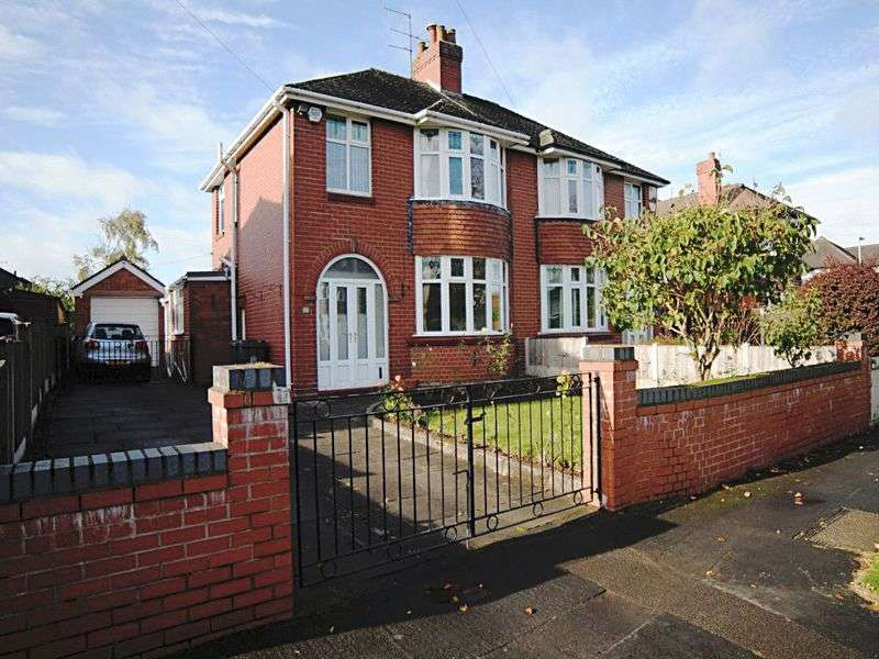 3 Bedrooms Semi Detached House for sale in May Avenue, May Bank, Newcastle-under-Lyme, ST5 0NP