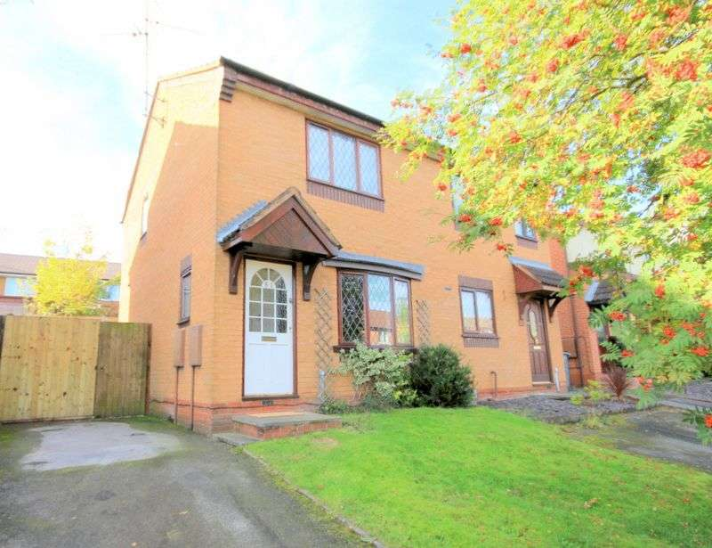 2 Bedrooms Semi Detached House for sale in Armstrong Avenue, Stafford