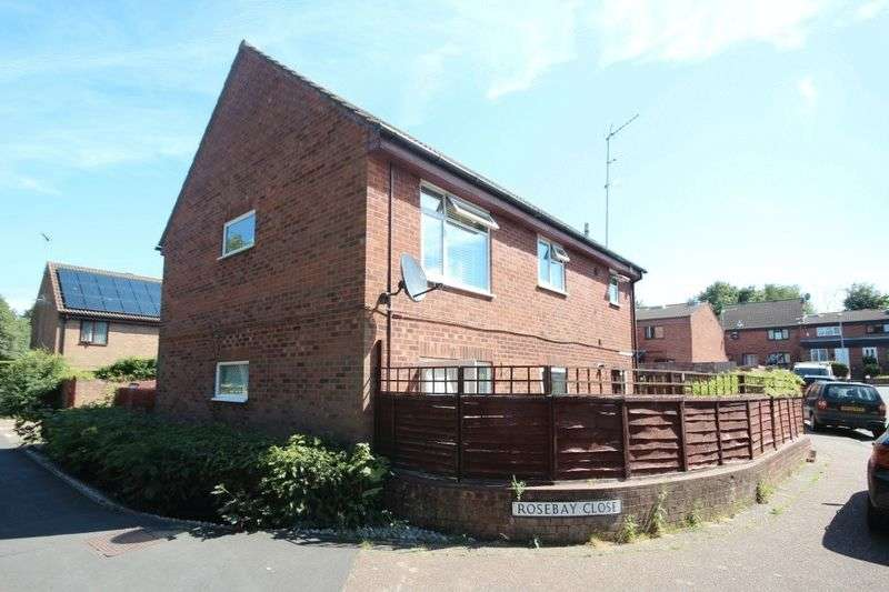 2 Bedrooms Flat for sale in Rosebay Close, Norwich