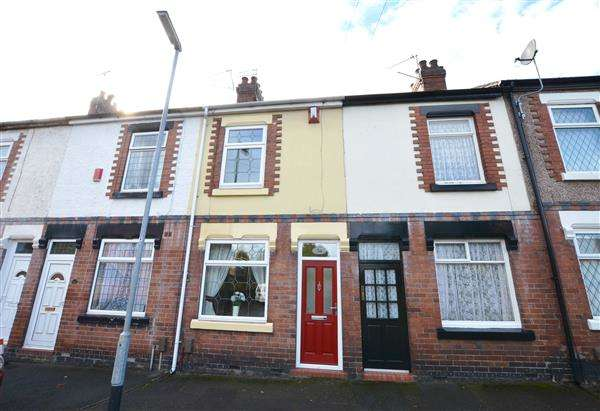 2 Bedrooms Terraced House for sale in Clarence Street, Wolstanton, Newcastle-under-Lyme