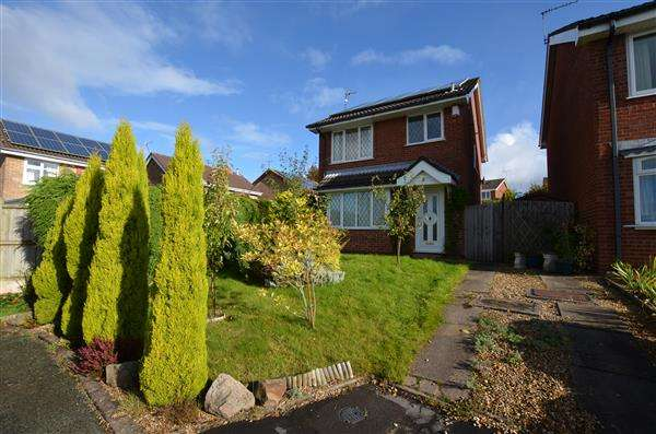 3 Bedrooms Detached House for sale in Rutherford Avenue, Westbury Park, Newcastle-under-Lyme