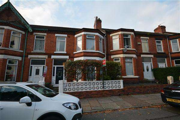 4 Bedrooms Terraced House for sale in Bebington Road, Bebington