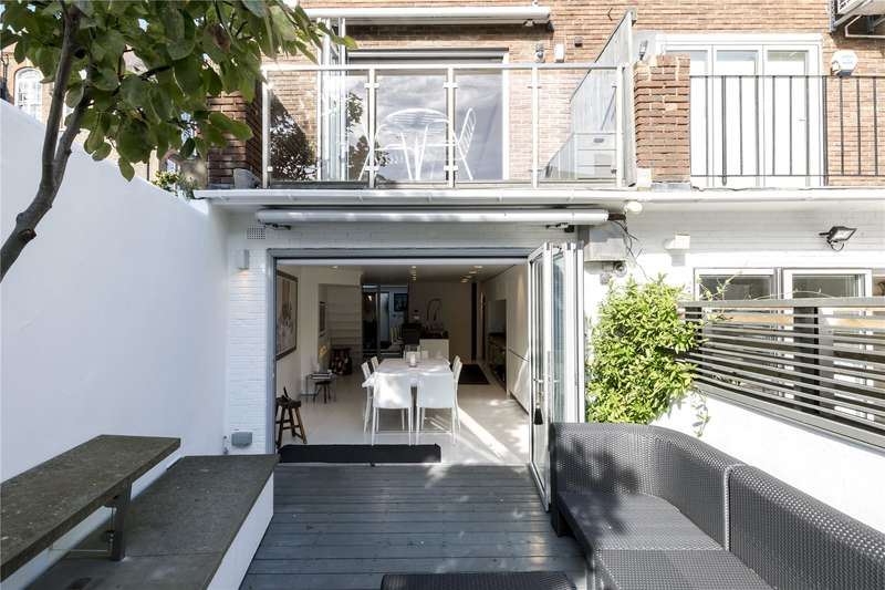 4 Bedrooms Terraced House for sale in Waterside Place, London, NW1