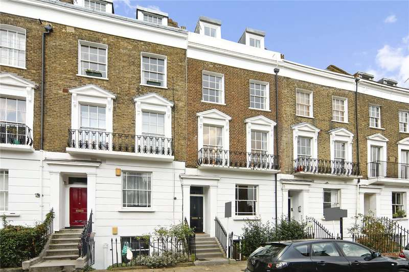 5 Bedrooms Maisonette Flat for sale in Stratford Villas, London, NW1