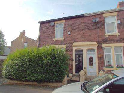 2 Bedrooms End Of Terrace House for sale in Brighton Terrace, Blackburn, Lancashire, ., BB2