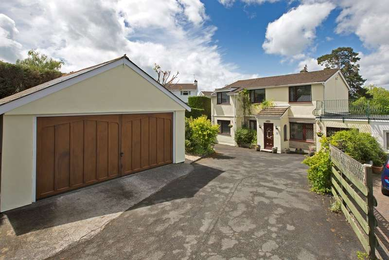 4 Bedrooms Semi Detached House for sale in Courtenay Gardens, Newton Abbot