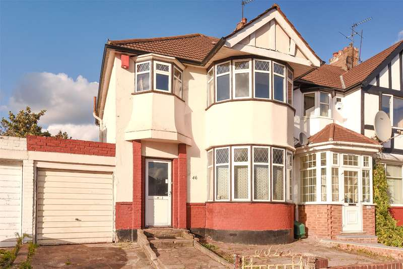 3 Bedrooms Semi Detached House for sale in Headstone Gardens, Harrow, Middlesex, HA2