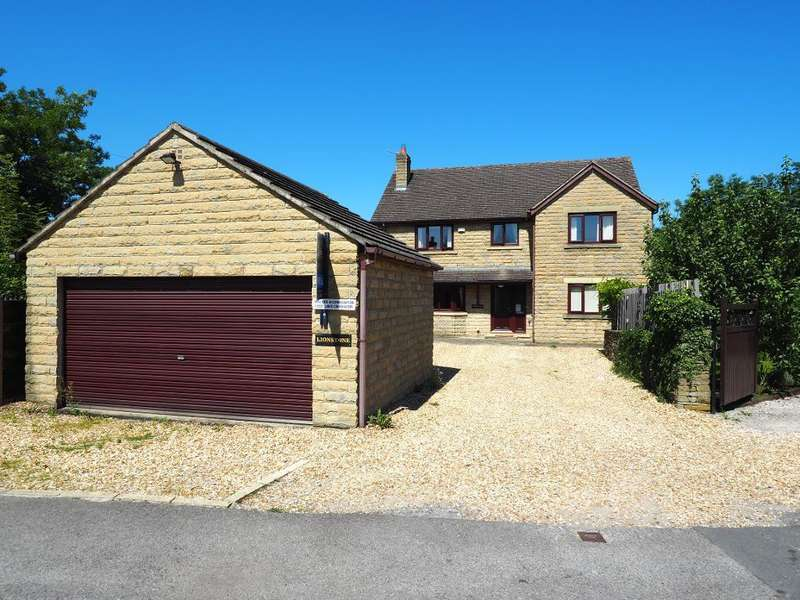 4 Bedrooms Detached House for sale in Hayfield Road East, Chapel en le Frith, High Peak, Derbyshire, SK23 0NX