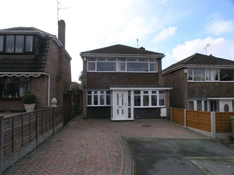 3 Bedrooms Detached House for sale in Vanborough Walk, London Heights, Dudley