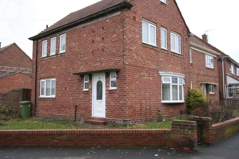 3 Bedrooms Semi Detached House for sale in Caithness Road, Hylton Castle, Sunderland
