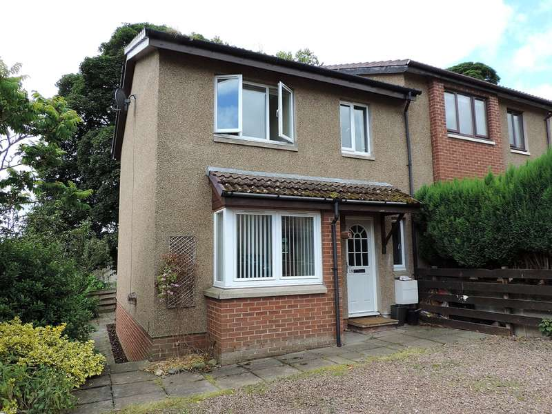 3 Bedrooms Semi Detached House for sale in 18 Kingsknowe Place, Galashiels, TD1 3JF