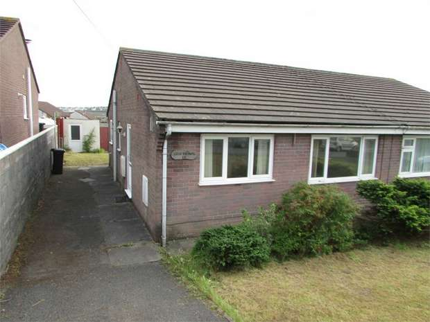 2 Bedrooms Semi Detached Bungalow for sale in Heol Ffranc, Skewen, Neath, West Glamorgan