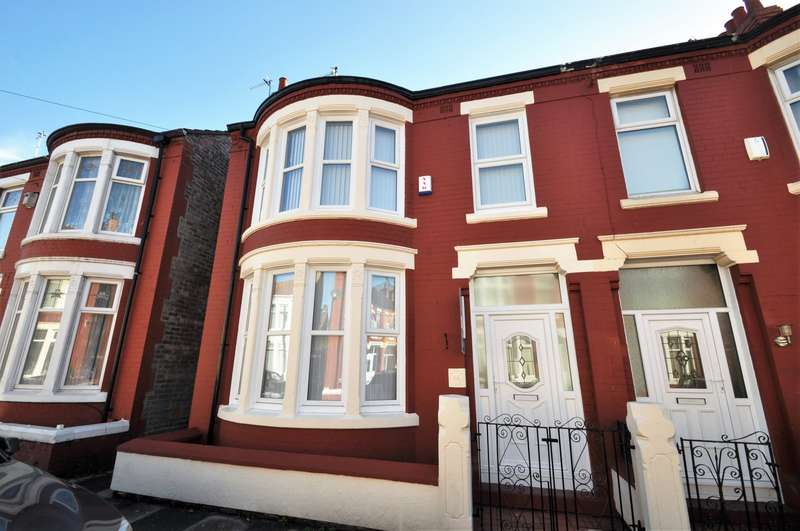 4 Bedrooms House for sale in Hampstead Road, Wallasey