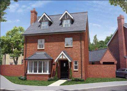 4 Bedrooms Detached House for sale in Buckton Fields, Northampton