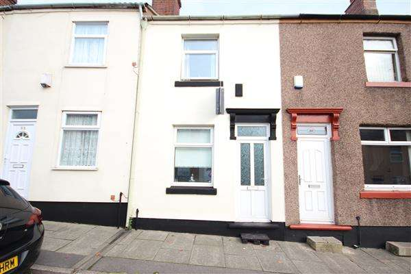 2 Bedrooms Terraced House for sale in Bright Street, Stoke-on-Trent