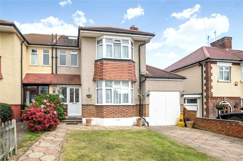 3 Bedrooms Semi Detached House for sale in Cranbourne Road, Northwood, Middlesex, HA6