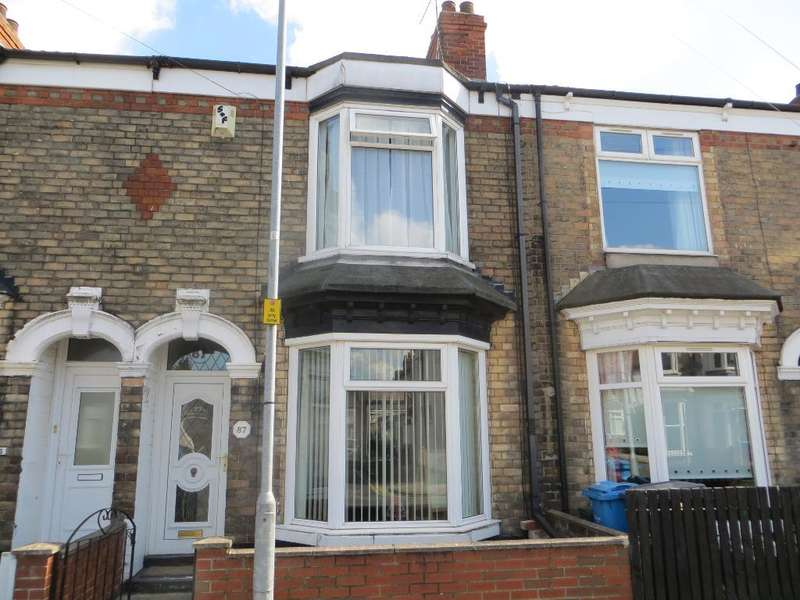 2 Bedrooms Terraced House for sale in Newstead Street, Hull, HU5 3NF