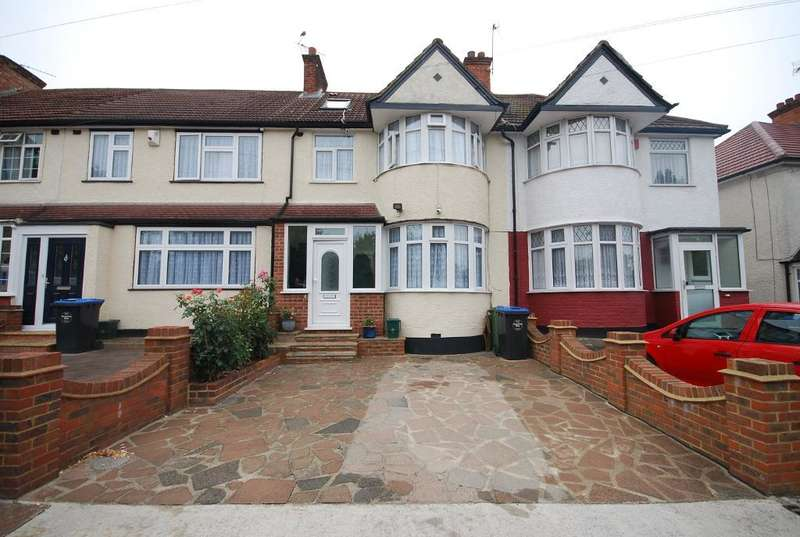 4 Bedrooms Terraced House for sale in CLIFFORD ROAD, WEMBLEY, MIDDLESEX, HA0 1AF