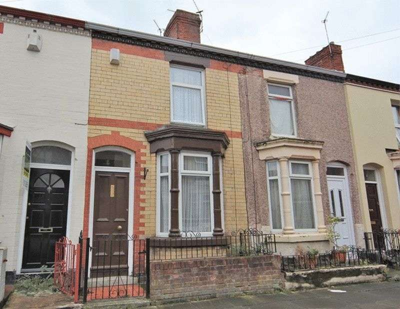 2 Bedrooms Terraced House for sale in Bligh Street, Wavertree, Liverpool, L15