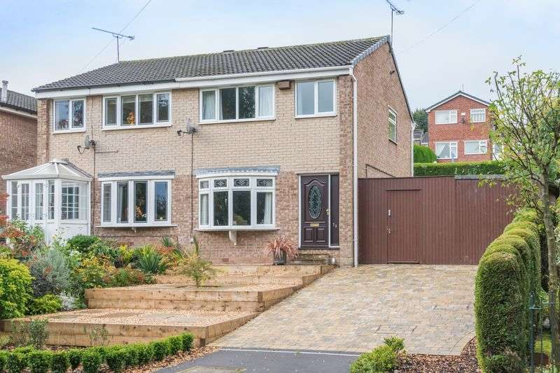 3 Bedrooms Semi Detached House for sale in High Matlock Road, Stannington, S6 6AS - Large Side Garden