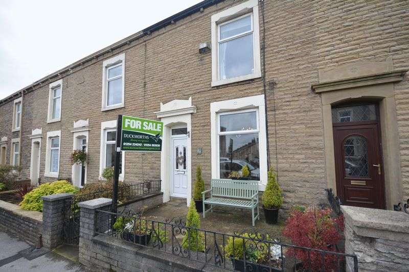 2 Bedrooms Terraced House for sale in Harwood Road, Rishton