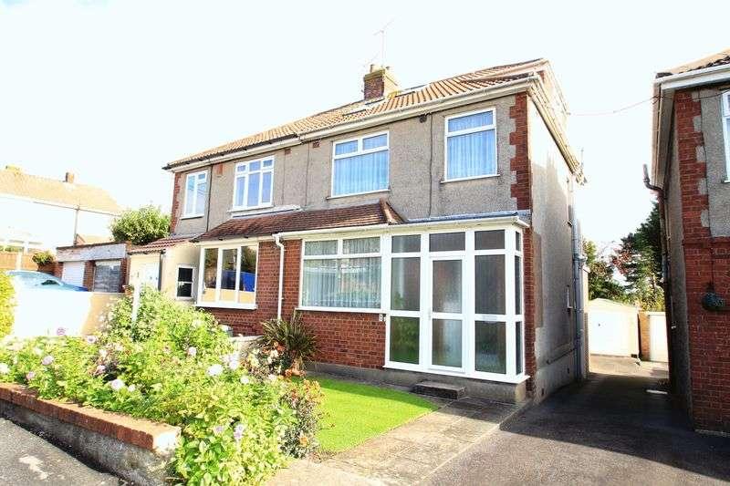 4 Bedrooms Semi Detached House for sale in Elm Road Hanham Bristol