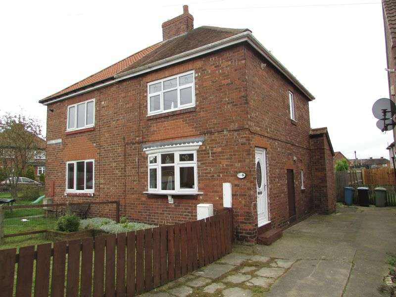 2 Bedrooms Semi Detached House for sale in Handel Terrace, Durham
