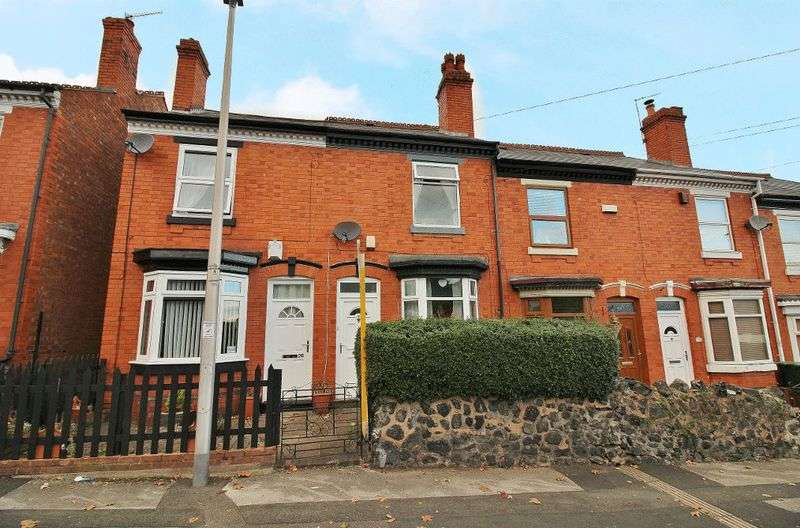 3 Bedrooms Terraced House for sale in Vicarage Road, Wednesbury