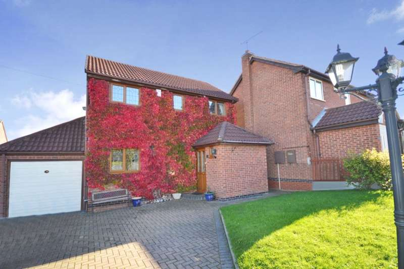 3 Bedrooms Detached House for sale in Chiltern Road, Swadlincote, DE11